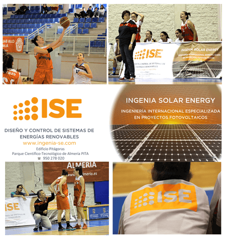 ISE Ingenia sponsors the Almeria Basket Club