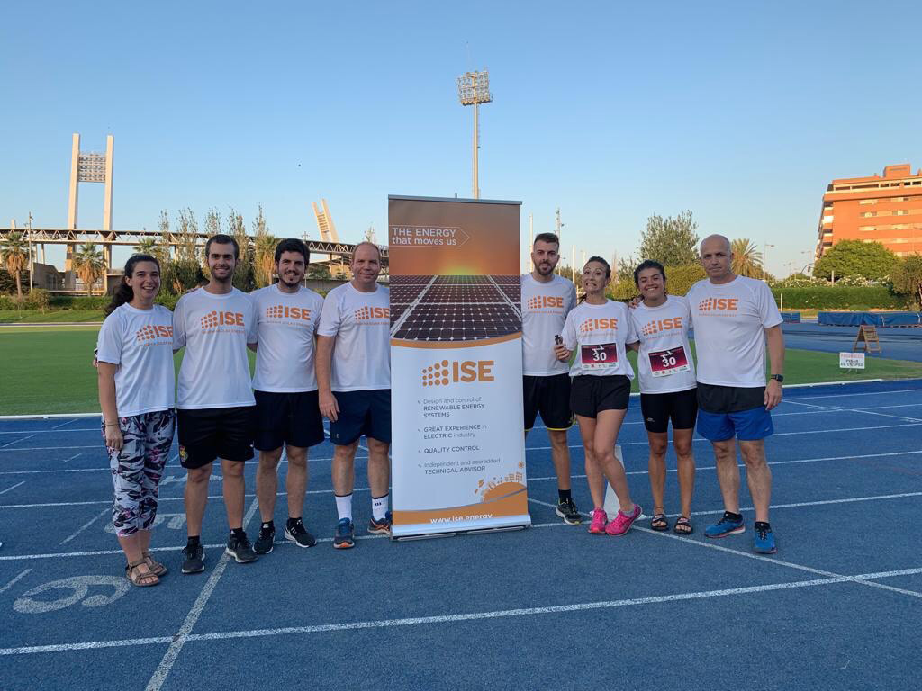 "First place for the category of company in the ""4 hours Running NonStop Feria de Almería"" race"